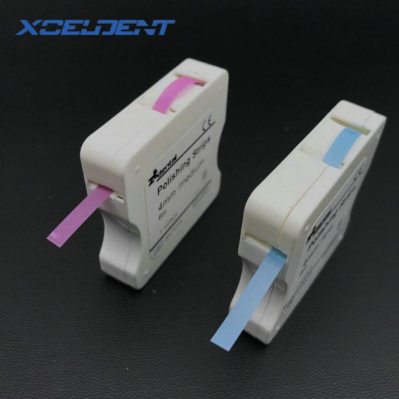 1 Rolle Dental Polieren Streifen 4mm Harz Zahn Interdentalbürste Schleifen Schleifen Zähne Bleaching Oberfläche Dental Werkzeug Zahnarzt Material
