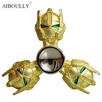 Transformer Metal Tri Spinner Antistress Fidget Hand Finger Spinner Lot Game Function Spinning Toy Wheel Stress