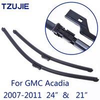 TZUJIE Car Wiper Blades For GMC Acadia 24 21 2007 2008 2009 2010 2011 Car Accessories