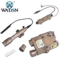 WADSN M600C SF Airsoft Taschenlampe LA PEQ15 Red Dot Surefir Taktische Waffe Licht PEQ Rot IR Laser Remote Schalter Ergänzen druck
