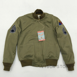 Image 1 - Bob Dong Fury Tanker Patch Jacket Mens Vintage US Army Military Winter Wool Coat