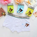 4 Pack 100% Cotton Bear Children's Underwears boys Panties and Toddler Training Pants baby clothing set
