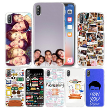 Hot sale Friends Together Hard Transparent Phone Case Cover Coque for Apple iPhone 4 4s 5 5s SE 5C 6 6s 7 Plus