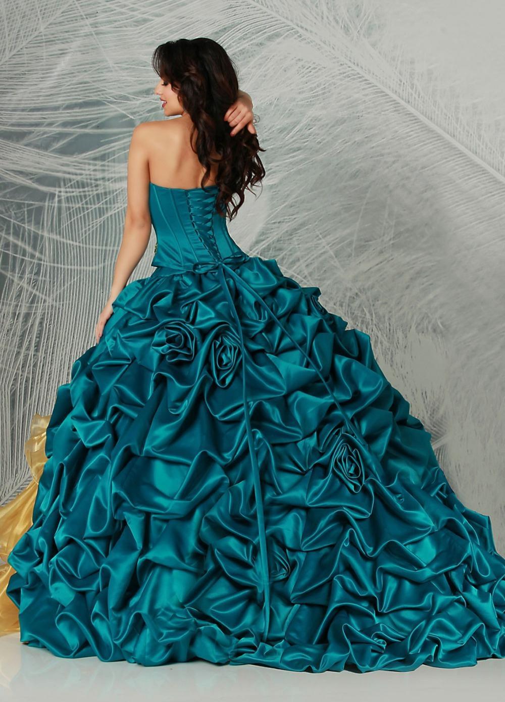 Mejor Precio De Color Azul Marino Y Amarillo Vestido De