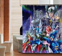 人格聖闘士星矢カスタムシャワーカーテンバスルーム装飾防水さまざまなサイズ送料無料よりサイズSQ0506 ZHH