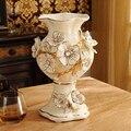 Европейский стиль Роскошная декоративная керамическая ваза Гостиная ТВ шкаф украшение стола свадебный подарок