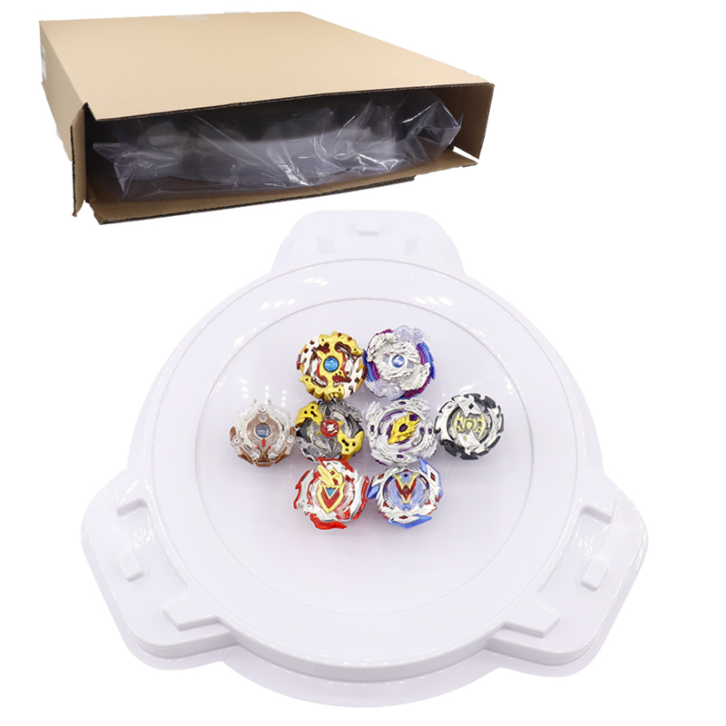 Beyblade Burst Stadium Bey Blade Arena Spinning Top Metal 4D Bayblade Toys Fusion Self-assembly Toupie With Launcher Handle #E beyblade burst set self assembly toupie beyblade arena metal fusion toys launcher bayblade spinning top bey blade starter kit