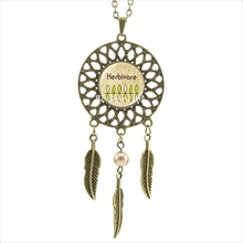 """Peace Love Vegan"" pendant necklace / 2 Colors"