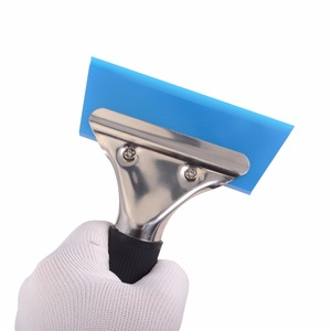 Image 2 - EHDIS Automotive Handled Scraper With Rubber Blade Film Wrapping Vinyl Applicator Tool Sticker Remover Window Tint Snow Squeegee