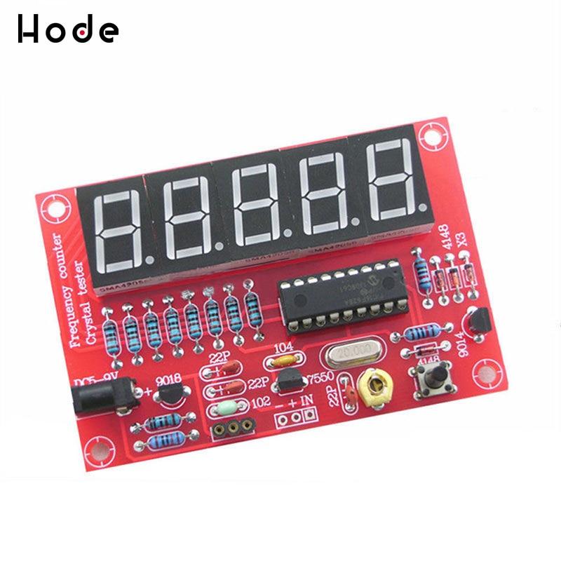 DIY Kits RF 1Hz-50MHz Crystal Oscillator Frequency Counter Meter Digital LED Tester Meter Frequency Meter Digital