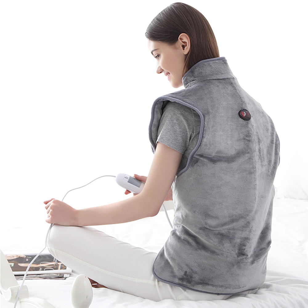 Electric Hot Compresss Heat Protector Back Shoulder Heat Pack Warm Physiotherapy Moxa Moxibustion Shawl Neck Cervical Vertebra - 2