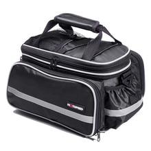 Многофункциональный 25L Прокат заднем сиденье сумка горный велосипед хвост заднего седло сумка Велоспорт Bicicleta корзина стойки багажника сумки на ремне Сумки