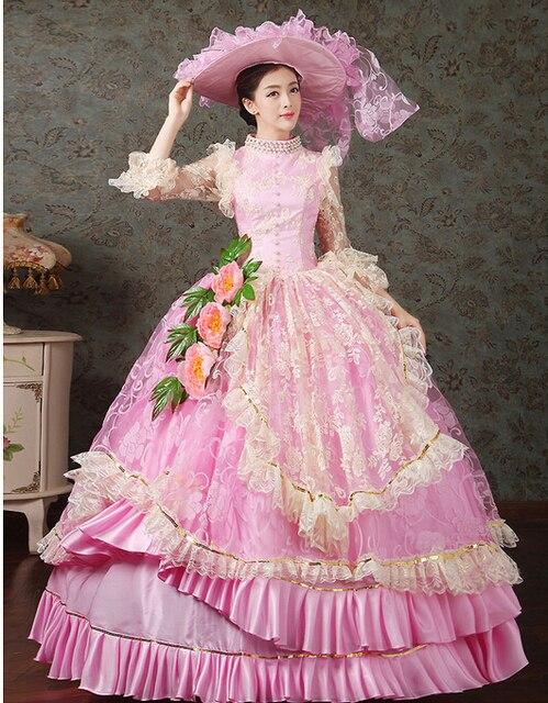 Señoras Reina Elizabeth traje medieval vestido victoriano corte real ...
