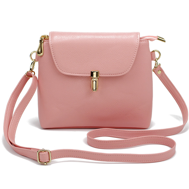 6 color Hot sale 2018 Vintage Cute Bow Small Handbags femmes cuir Famous Brand Simple mini bags Crossbody bags free shipping