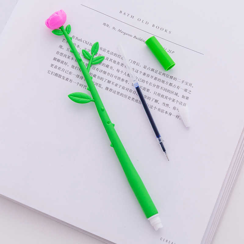 Dl Korean Stationery Creative Lovely Cartoon Simulation Flower