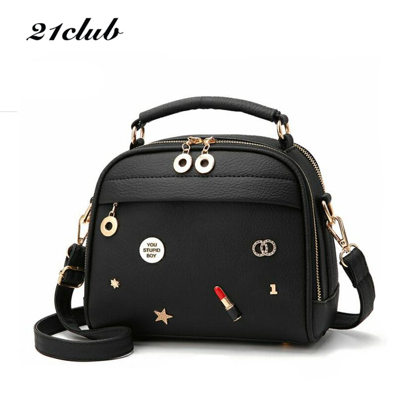21club brand 2017 women cute sequined appliques totes handbag hotsale ladies purse flap casual messenger crossbody shoulder bags купить
