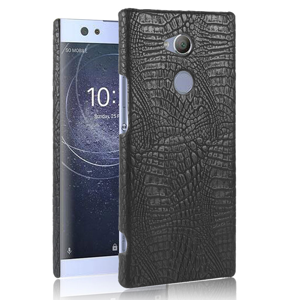 For Sony Xperia XA1 XA2 Ultra Z6 G3116 luxury Crocodile PU Leather Case for Sony Xperia XA1 Plus XA2 Plus Back Cover Case-in Fitted Cases from ...