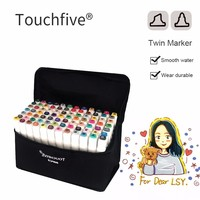 Marker Pens New Arrival Double Headed Sketch Draw Marker Set 36 48 Colors Art Markers For