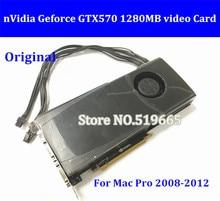 DHL EMS Free New High Quality Original GTX570 1280MB PCI E Video Graphic Video Card GTX