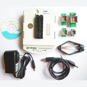 Image 2 - 新しい TOP3000 + 4 アダプタ USB ユニバーサルプログラマ、 eprom マイコン PIC AVR PLCC 44 Scoket