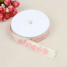 Red House Embossed Belt Craft Edging 2cm Cotton Classic Clothing Home Improvement Accessories Polyester Material