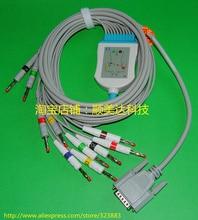 Nihon Kohden EKG ECG câble avec fils de plomb