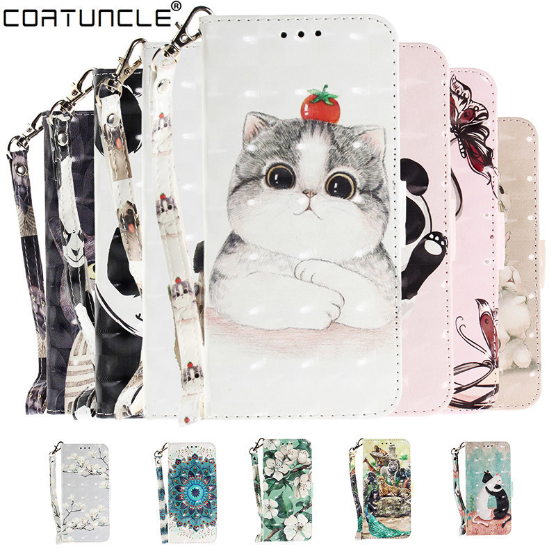 A9 2018 Case on sFor Fundas Samsung Galaxy A9 2018 Case For Coque Samsung A9 2018 Cover 3D Flip Leather Wallet Stand Phone Cases