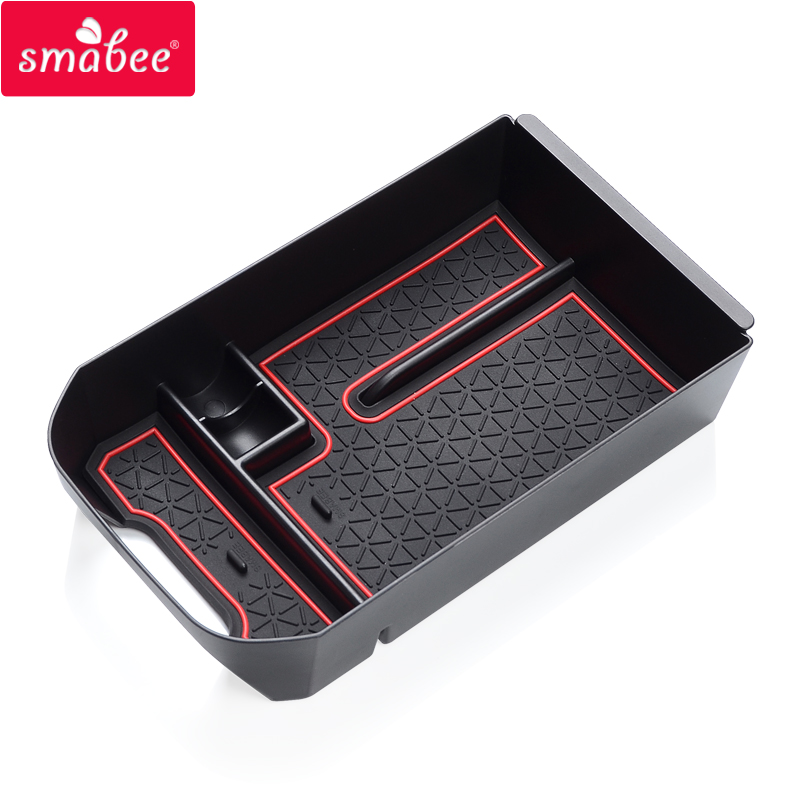 Smabee Car central armrest box for Toyota RAV4 2019 2020 RAV 4 Interior Accessories Stowing Tidying Center Console Organizer(China)