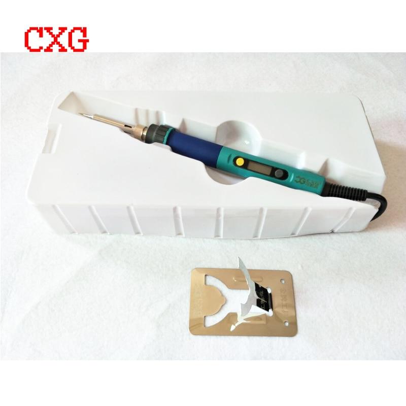 Wtyczka UE 936d Cyfrowy wyświetlacz LCD Regulacja temperatury - Sprzęt spawalniczy - Zdjęcie 4