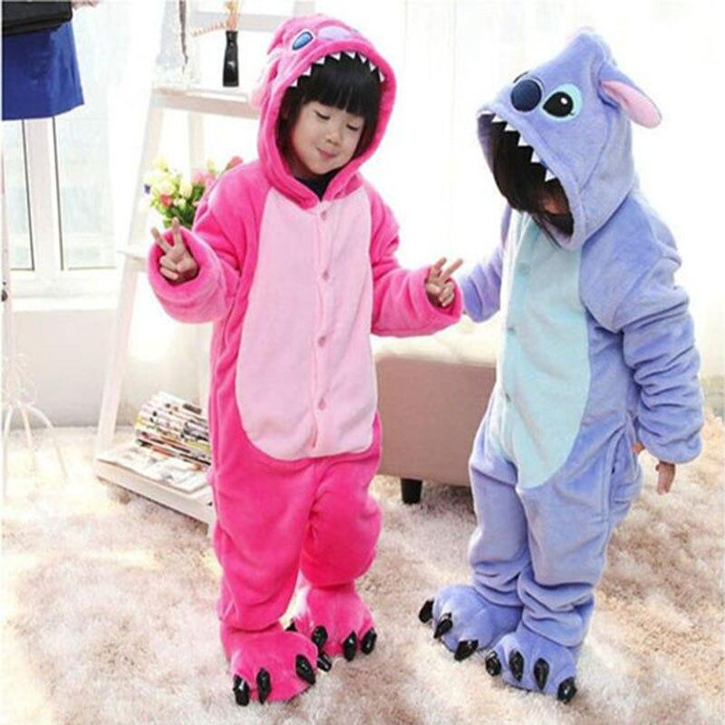 b1dd35b97 New Baby Boys Girls Pajamas warm Autumn Winter Children coral fleece ...
