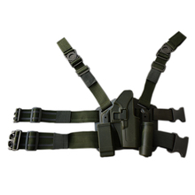 Quick Drop Tactical Gun Holster Military Airsoft Hunting Pistol Leg Glock 17 19 22 23 31 32 Left /Right Hand