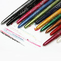 12pcs Fashion 12 Colors Eyebrow Glitter EyeShadow EyeLiner Pencil Pen Cosmetic Makeup Set Kit Tools P10001#