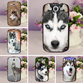 Siberian Husky Phone Covers Case For Samsung Galaxy S3 S3Mini S4 S4 Mini S5