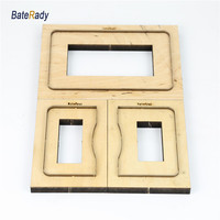 Credit card wallet leather cutting die,Japan steel Blade bank card wallet leathe cutter mold,wood plate17 18mm,blade 23.8x0.71mm