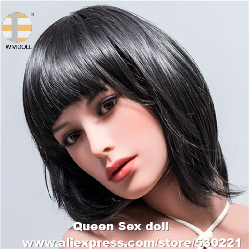 Top Quality WMDOLL Head For Real Sexy Dolls Silicone Oral Sex Love Doll heads Sexual Adults For Men top quality oral sex doll head for japanese realistic dolls realdoll heads adult sex toys