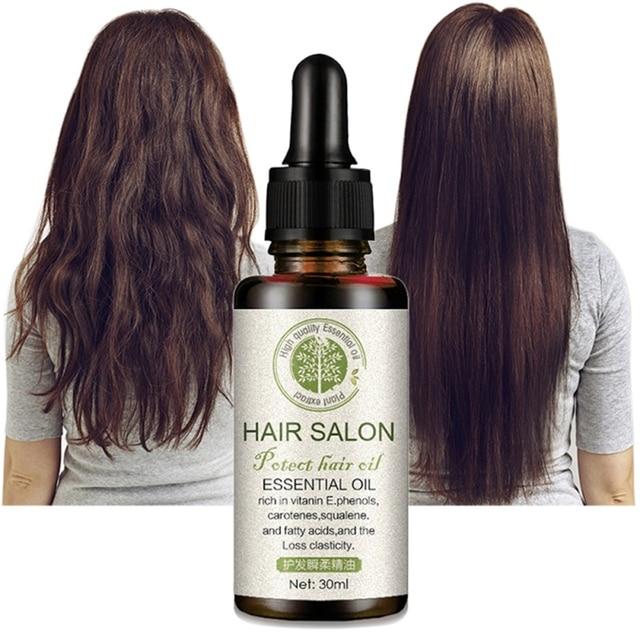 Cura dei capelli e Protegge I Capelli di Riparazione e del Cuoio Capelluto Trattamento di olio di Cocco Secchi Danneggiati Maschera Per Capelli per Umidità Trucco 2