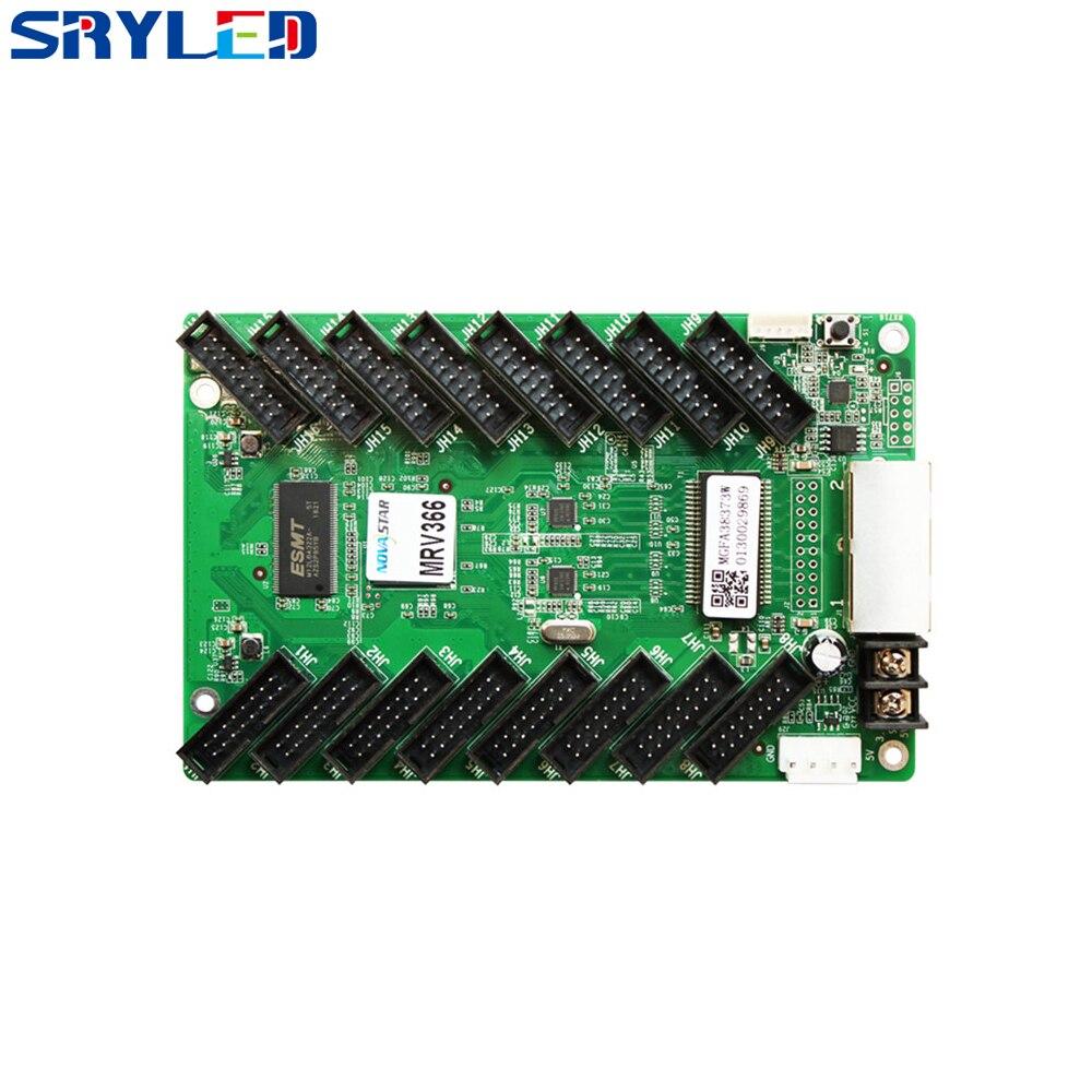 Controlador de matriz LED Novastar MRV366 Hub75 tarjeta de recepción a todo Color Hontiey UV púrpura LED de alta potencia Chip 360Nm 375Nm 385Nm 395Nm 405Nm UVA UVB cuentas de iluminación 3 5 10 20 30 50 100 vatios matriz 3D