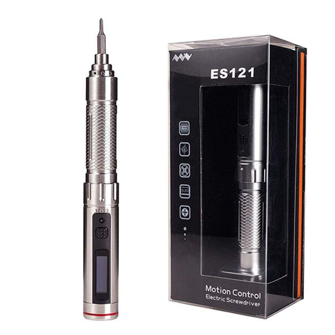 цена на CLOS Mini DC3-5V ES121 OLED Screen 16 Screw Kit STM32 Sensor Portable Power Screwdriver Rechargeable Cordless Smart screwdriver