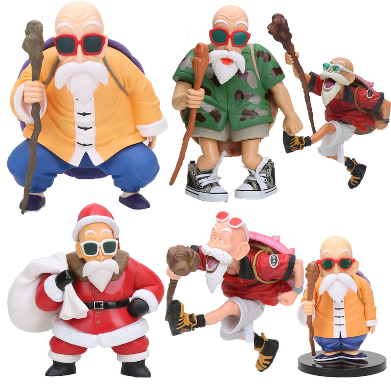 Anime Dragon Ball Z figure Master Roshi Kame Sennin Action Figure Turtle Hermit Kamesennin SCultures Colosseum Toy image