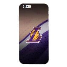 Los Angeles Lakers 8 24 slim silicone Soft phone case For iPhone X 8 8plus 7 7plus 6 6s plus 5 5s 5c SE 4 4s