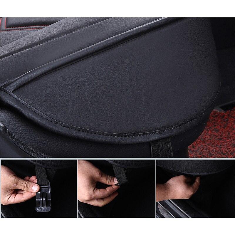 Nouvelle housse de siège de voiture universelle en cuir de luxe pour hyundai Elantra solaris tucson Zhiguli veloster getz creta i20 i30 ix35 i40 car - 6