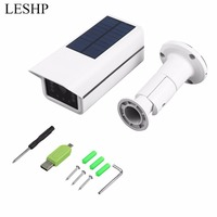 Professional Human Induction Solar Power Outdoor Security Bullet Camera Waterproof Surveillance Camera For Courtyards Fishponds