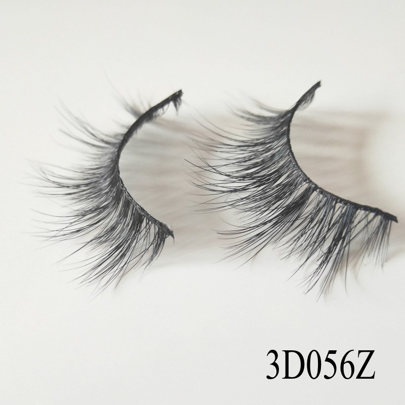 UPS Free Shipping 100 Pairs Wholesale 2018 New Style 100% Mink hair 3d Volume False Eyelashes 3D Mink Lashes China Manufacturer