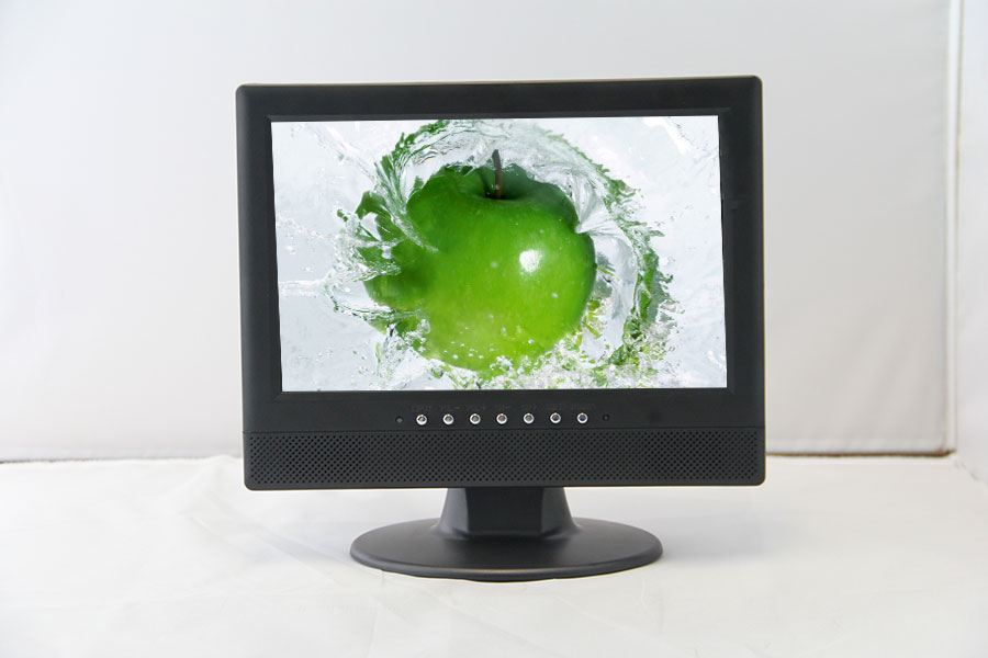 10.2 inch monitor display LED monitor with VGA/BNC/ AVand input 800*480 resolution