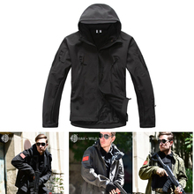 Better Quality Lurker Shark Skin Soft Shell Outdoor Military Tactical Jacket Waterproof Windproof Sports Army Clothing TAD V 4.0
