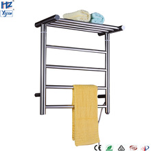 TW-RD15 Stainless Steel Electronic Towel Dryer Rail Wall Mount Warmer Rack Bathroom Holder Shelf