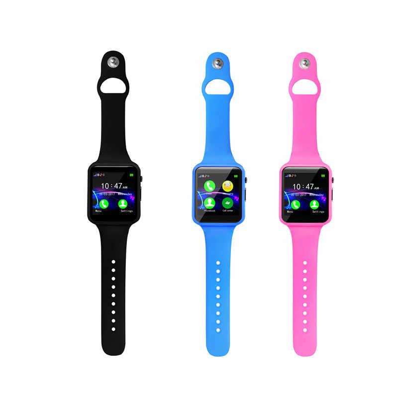 Лидер продаж Bluetooth Смарт часы A1S Поддержка SIM TF карты для Android IOS Телефон детская камера Для Женщин Bluetooth Смарт часы с Россия