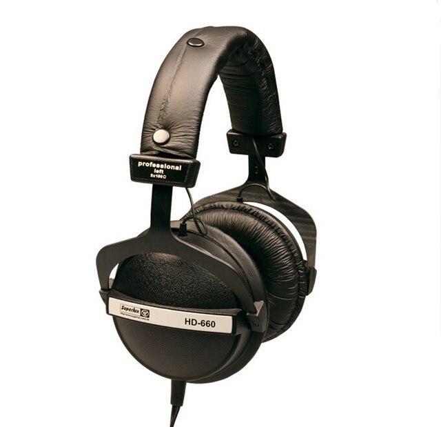Superlux HD660 Professional Audio Monitoring  tereo Close Dynamic noise isolating  game headphone DJ Hi-Fi Headphones Headset