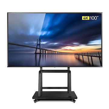 100-inch 4K LED TV/Super TV with android OS, it support LAN/WIFI network