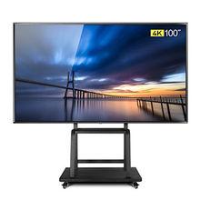 100 дюймовый 4K светодиодный телевизор/супер ТВ с ОС android, он поддерживает LAN/wifi сеть